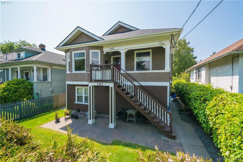 Main Photo: 1161 Chapman St in VICTORIA: Vi Fairfield West House for sale (Victoria)  : MLS®# 821706