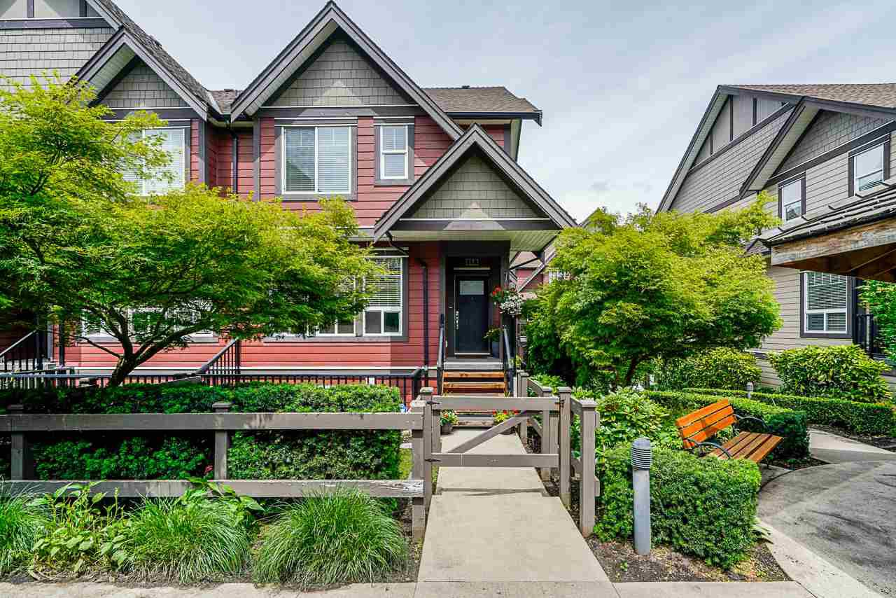 """Main Photo: 17 14877 60 Avenue in Surrey: Sullivan Station Townhouse for sale in """"Lumina"""" : MLS®# R2465738"""