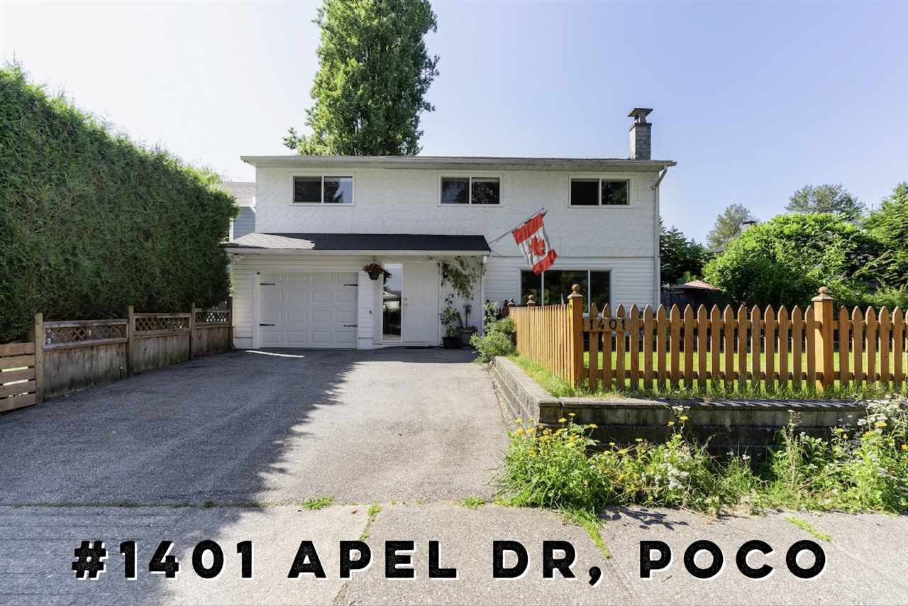 Main Photo: 1401 APEL Drive in Port Coquitlam: Oxford Heights House for sale : MLS®# R2478537