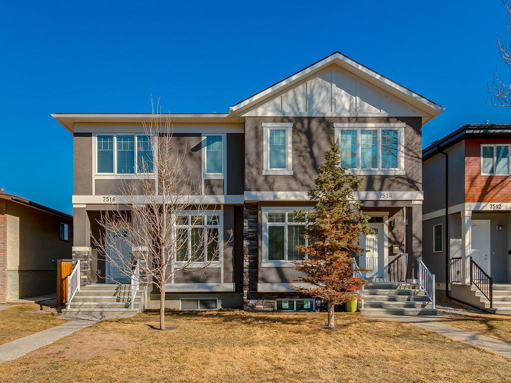 Main Photo: 7516 36 Avenue NW in Calgary: Bowness Semi Detached for sale : MLS®# A1019439