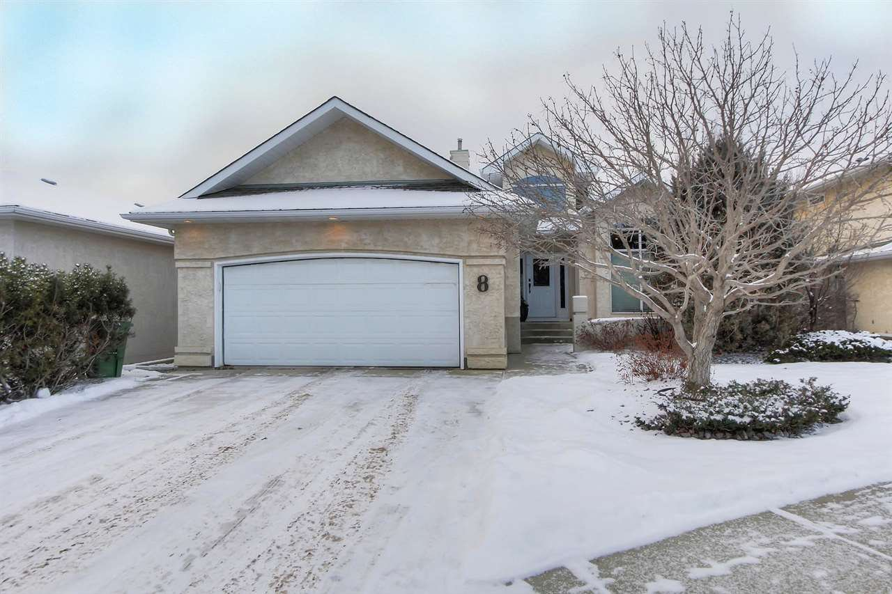 Main Photo: 8 Hesse Place: St. Albert House for sale : MLS®# E4221060