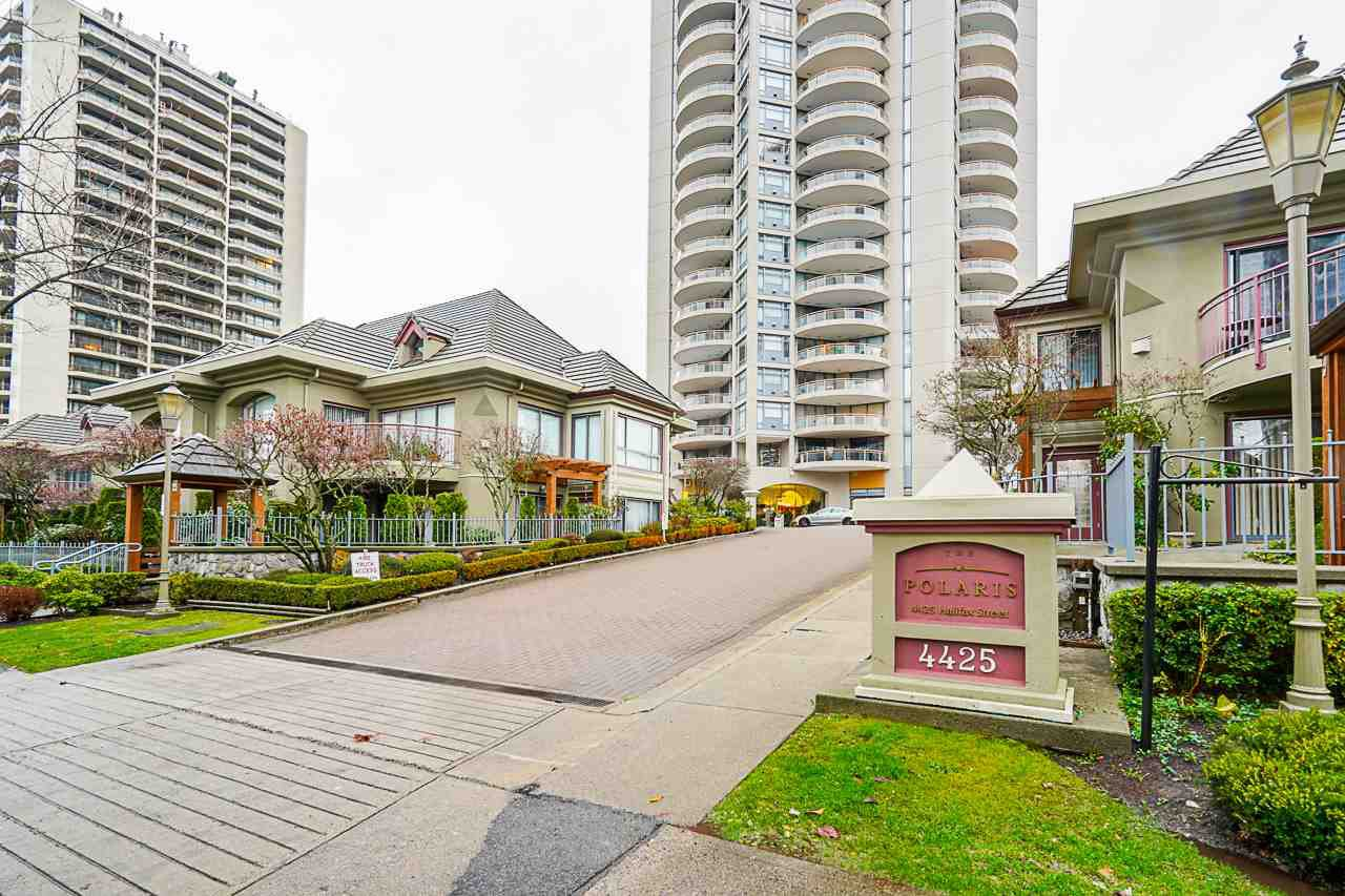 "Main Photo: 706 4425 HALIFAX Street in Burnaby: Brentwood Park Condo for sale in ""Polaris"" (Burnaby North)  : MLS®# R2521134"