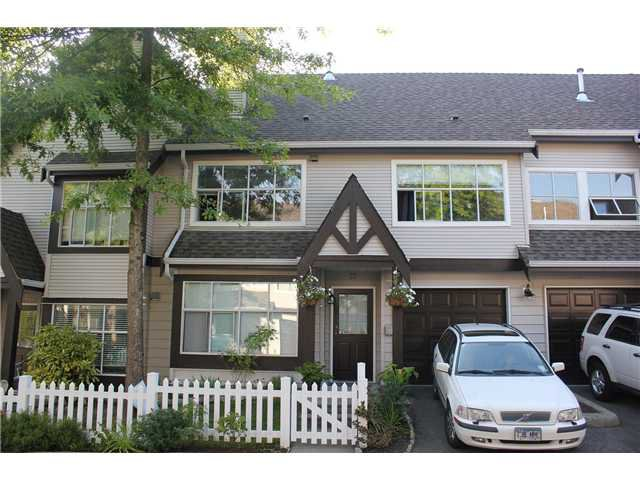 "Main Photo: 77 12099 237TH Street in Maple Ridge: East Central Townhouse for sale in ""GABROILA"" : MLS®# V1024539"