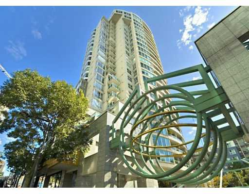 """Main Photo: 1605 1500 HOWE ST in Vancouver: False Creek North Condo for sale in """"THE DISCOVERY"""" (Vancouver West)  : MLS®# V610831"""