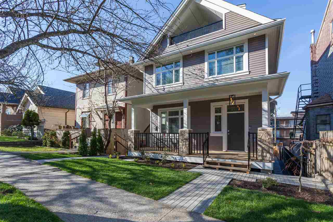 Main Photo: 1123 E 10TH AVENUE in : Mount Pleasant VE 1/2 Duplex for sale (Vancouver East)  : MLS®# R2152047