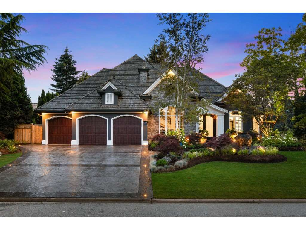 "Main Photo: 3415 CANTERBURY Drive in Surrey: Morgan Creek House for sale in ""MORGAN CREEK"" (South Surrey White Rock)  : MLS®# R2473403"