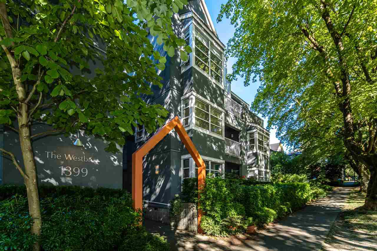 "Main Photo: 106 1399 BARCLAY Street in Vancouver: West End VW Condo for sale in ""WESTBRIAR"" (Vancouver West)  : MLS®# R2518607"