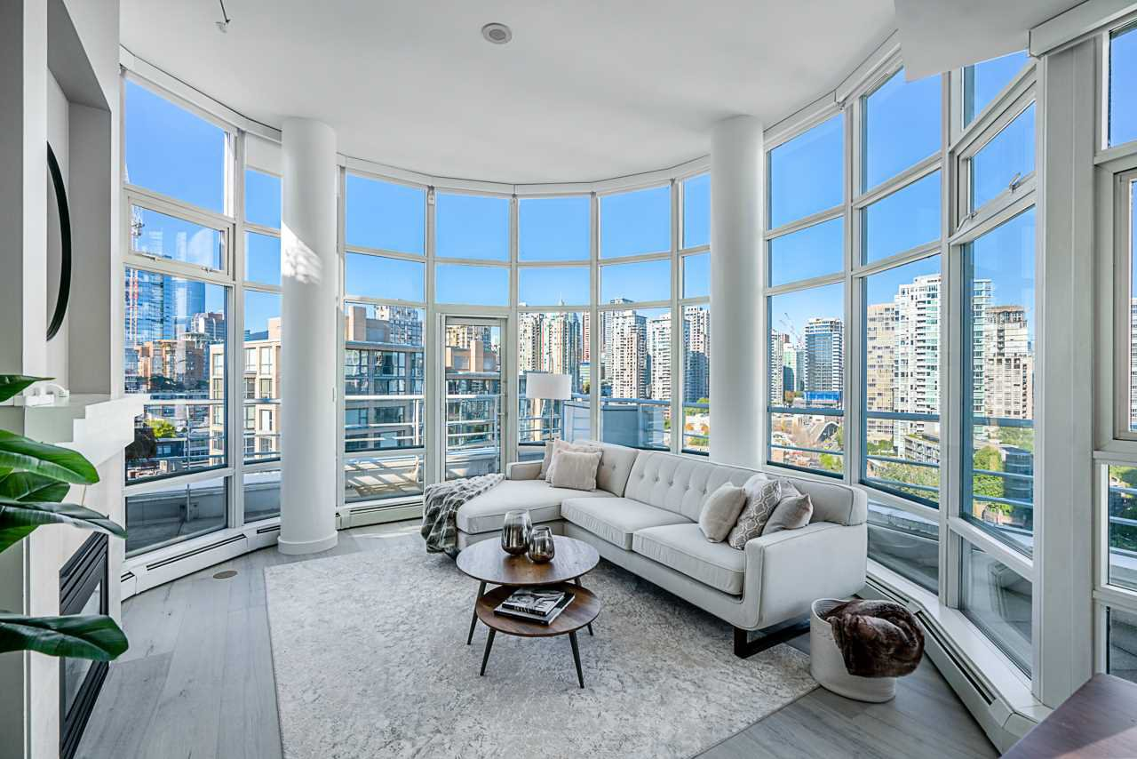 Main Photo: 1702 189 DAVIE STREET in Vancouver: Yaletown Condo for sale (Vancouver West)  : MLS®# R2504054