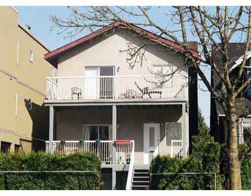 Main Photo: 2528 WATERLOO ST in : Kitsilano Triplex for sale : MLS®# V389967