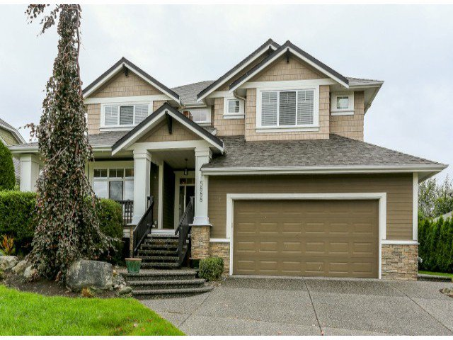 "Main Photo: 5888 163B Street in Surrey: Cloverdale BC House for sale in ""The Highlands"" (Cloverdale)  : MLS®# F1321640"