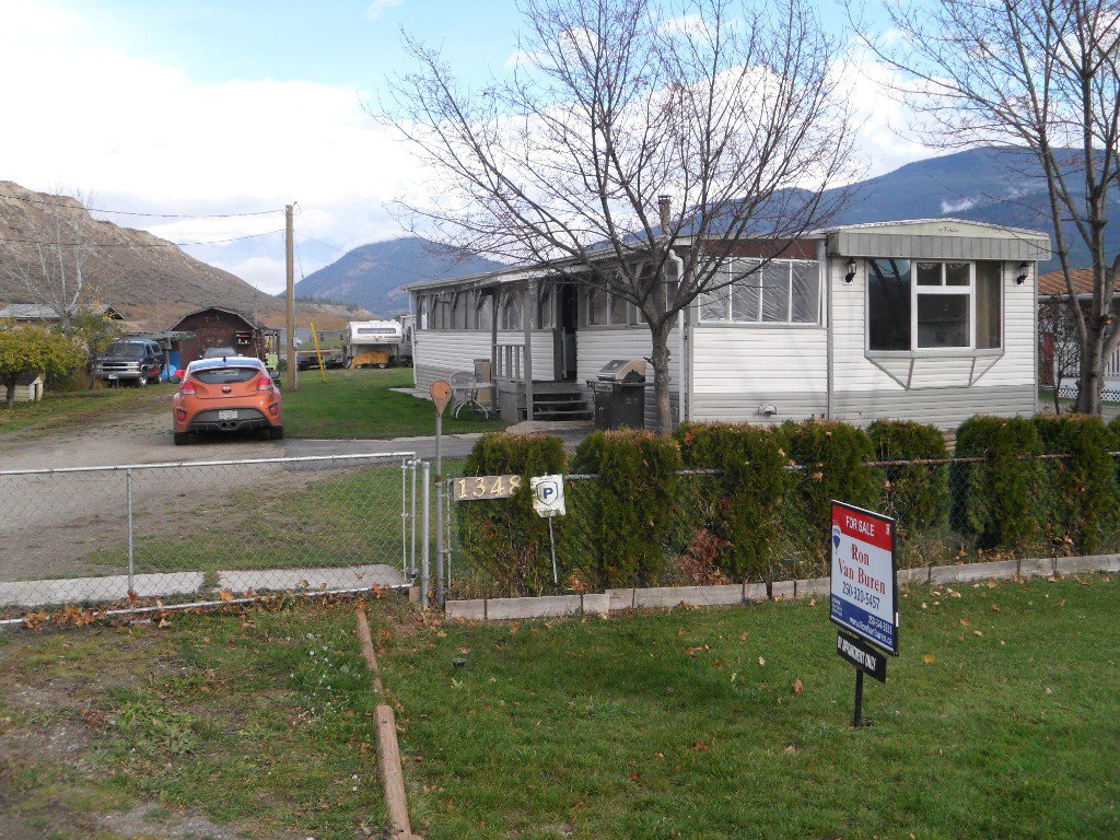 Main Photo: 1348 Foort Rd in Kamloops: Pritchard Manufactured Home for sale : MLS®# 125609
