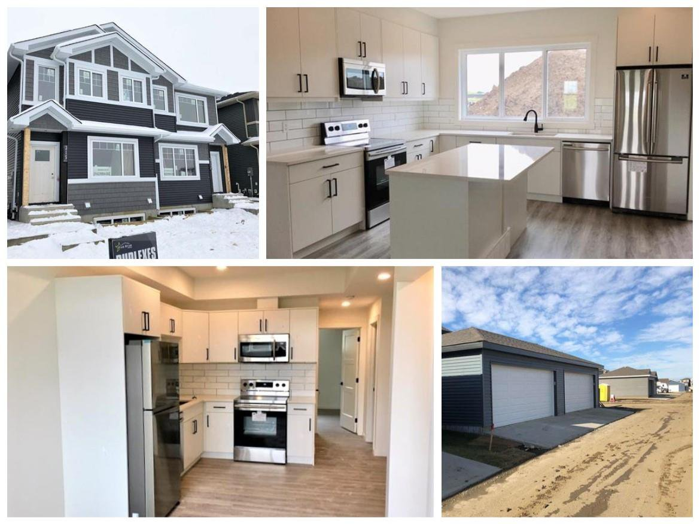 Main Photo: 315 Orchards Boulevard in Edmonton: Zone 53 House Half Duplex for sale : MLS®# E4179751
