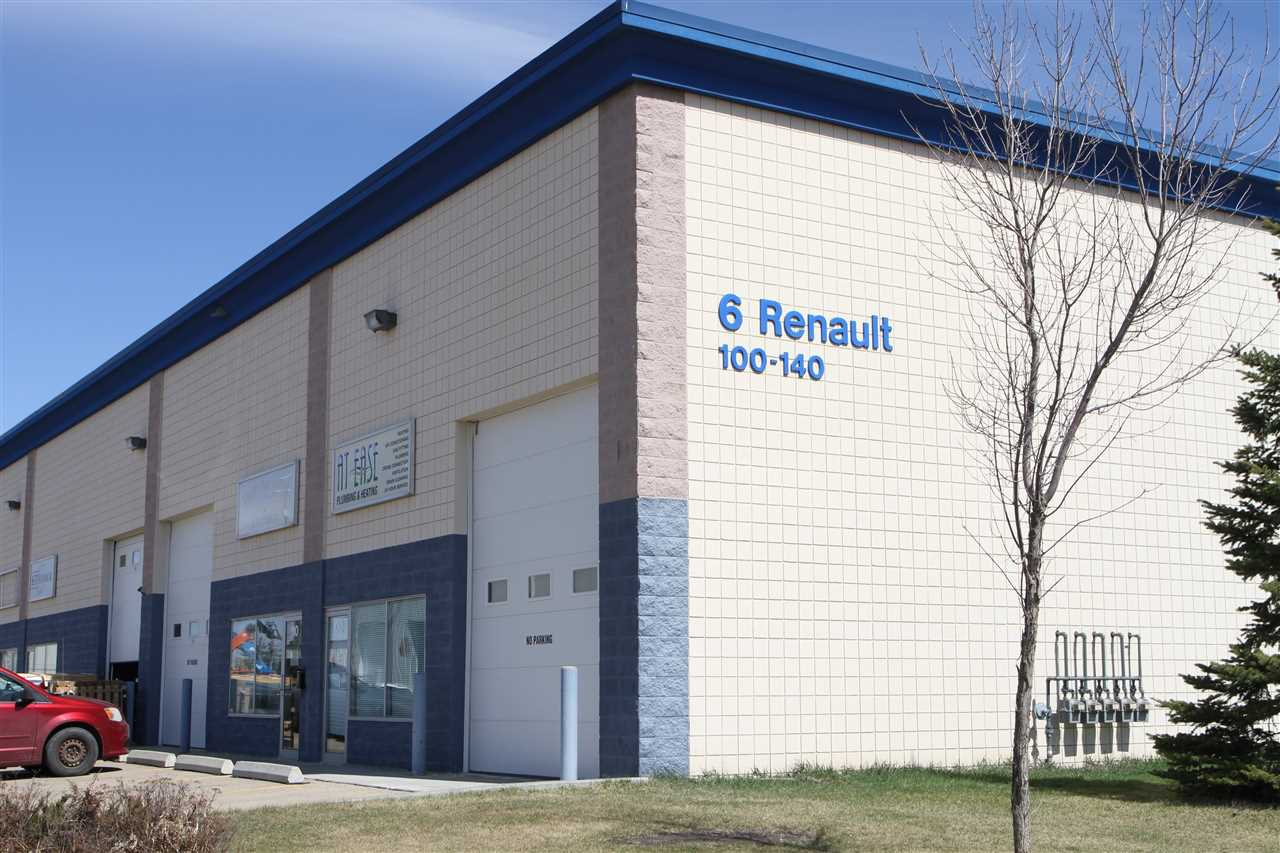 Main Photo: 130 6 Renault Crescent: St. Albert Industrial for lease : MLS®# E4203160