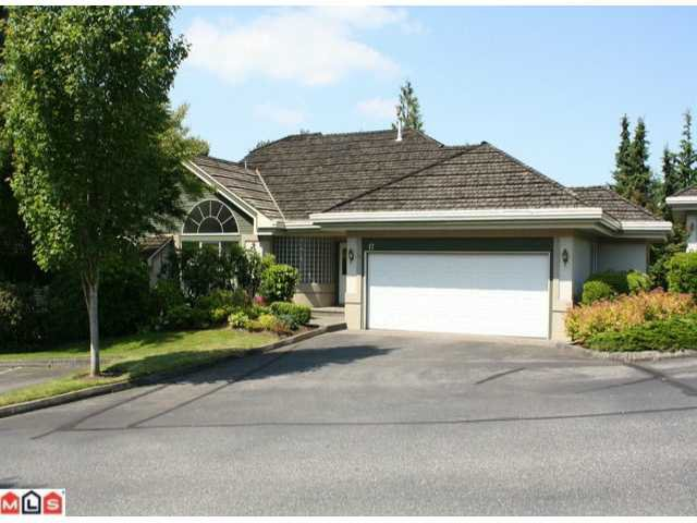"Main Photo: 17 4001 OLD CLAYBURN Road in Abbotsford: Abbotsford East Townhouse for sale in ""CEDAR SPRINGS"" : MLS®# F1226045"