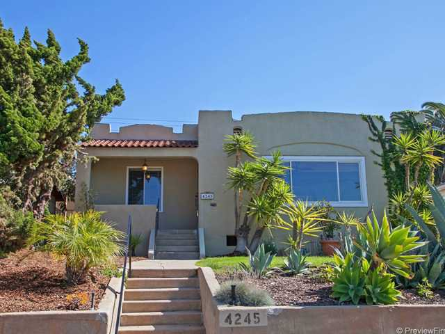 Main Photo: UNIVERSITY HEIGHTS House for sale : 3 bedrooms : 4245 Maryland Street in San Diego