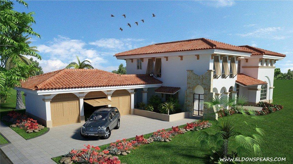 Santa Maria Golf & Country Club, Panama City -- model house