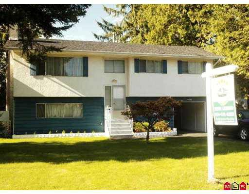 Main Photo: 14495 104A Avenue in North Surrey: House for sale : MLS®# F2719211
