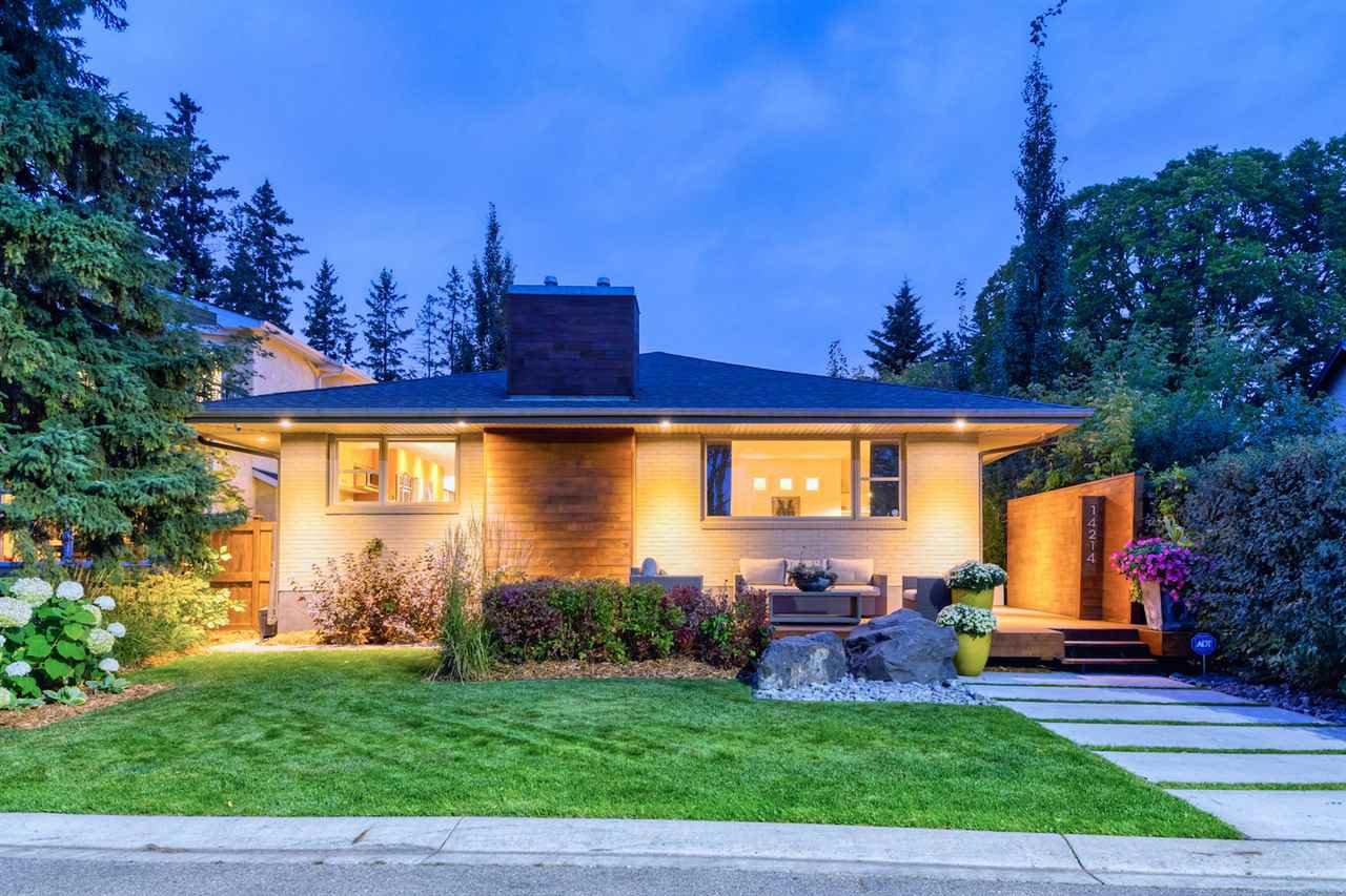 Main Photo: 14214 RAVINE Drive in Edmonton: Zone 21 House for sale : MLS®# E4214669