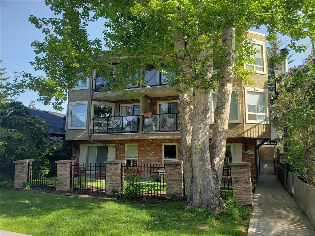 Main Photo: 303 534 22 Avenue SW in Calgary: Cliff Bungalow Apartment for sale : MLS®# A1043028