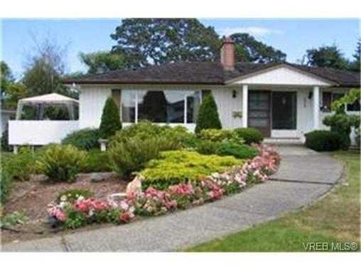 Main Photo: 3943 Marjean Place in VICTORIA: SE Cedar Hill Single Family Detached for sale (Saanich East)  : MLS®# 191159