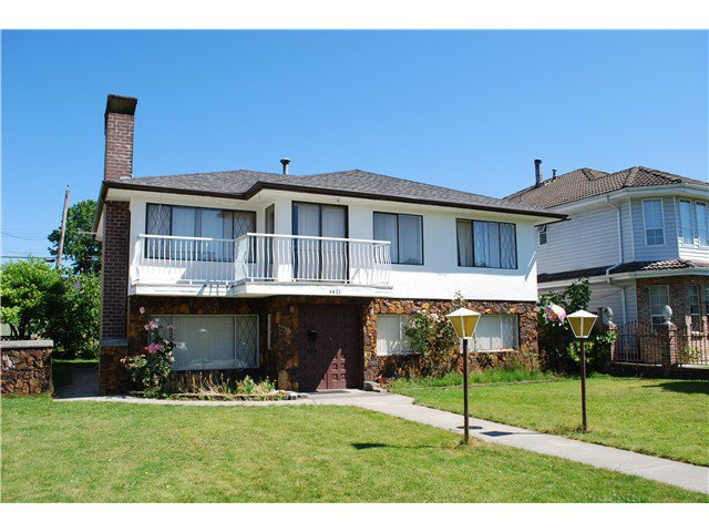 Main Photo: 4455 NAPIER Street in Burnaby: Willingdon Heights House for sale (Burnaby North)  : MLS®# V1075096