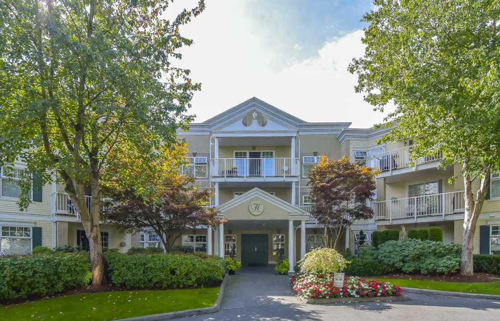 "Main Photo: 107 16065 83 Avenue in Surrey: Fleetwood Tynehead Condo for sale in ""Fairfield House"" : MLS®# R2500666"