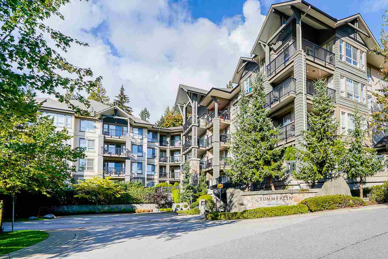 "Main Photo: 306 2969 WHISPER Way in Coquitlam: Westwood Plateau Condo for sale in ""Summerlin at Silver Springs"" : MLS®# R2511947"