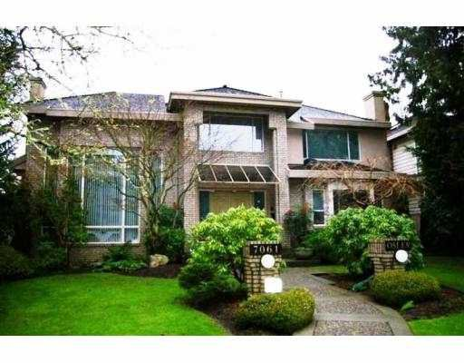 Main Photo: 7061 OSLER ST in Vancouver: South Granville House for sale (Vancouver West)  : MLS®# V569240