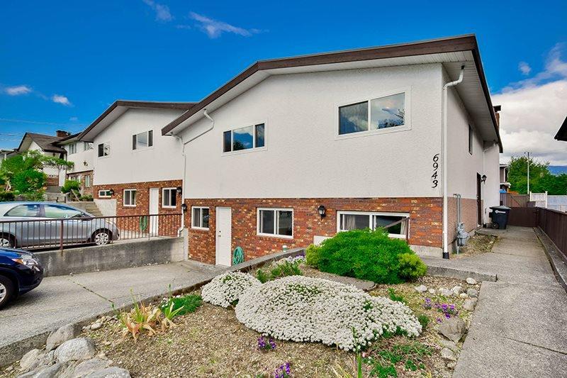 Main Photo: 6943 AUBREY STREET in Burnaby: Sperling-Duthie House 1/2 Duplex for sale (Burnaby North)  : MLS®# R2062369