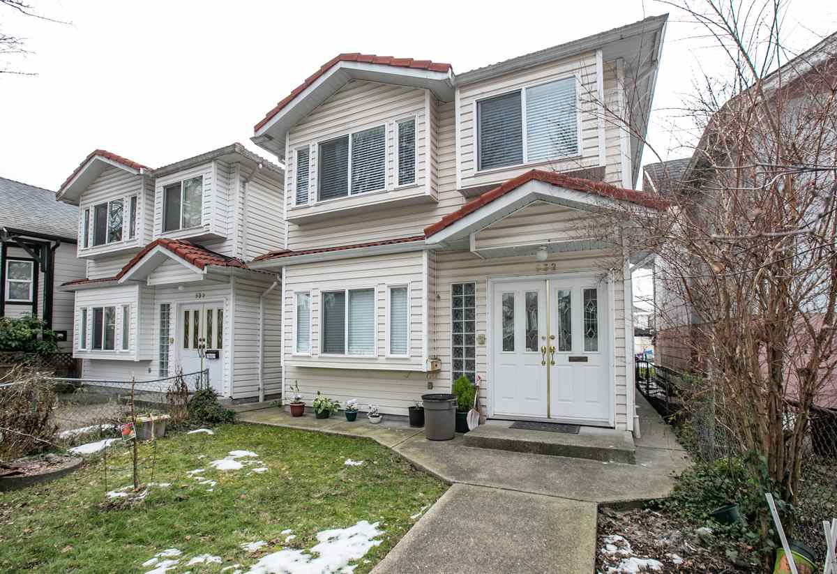 Photo 2: Photos: 532 E 21ST AVENUE in Vancouver: Fraser VE House for sale (Vancouver East)  : MLS®# R2346404