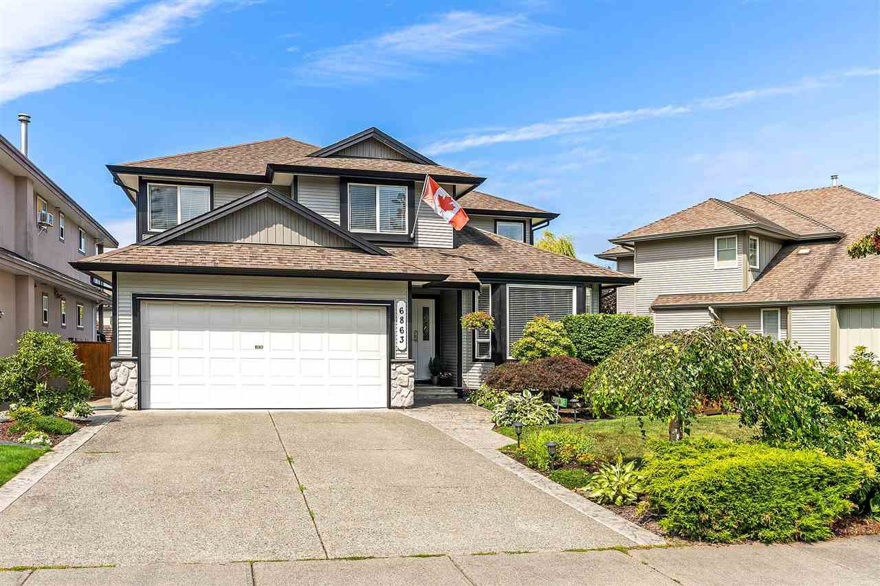 "Main Photo: 6863 183 Street in Surrey: Cloverdale BC House for sale in ""Cloverwoods"" (Cloverdale)  : MLS®# R2394519"