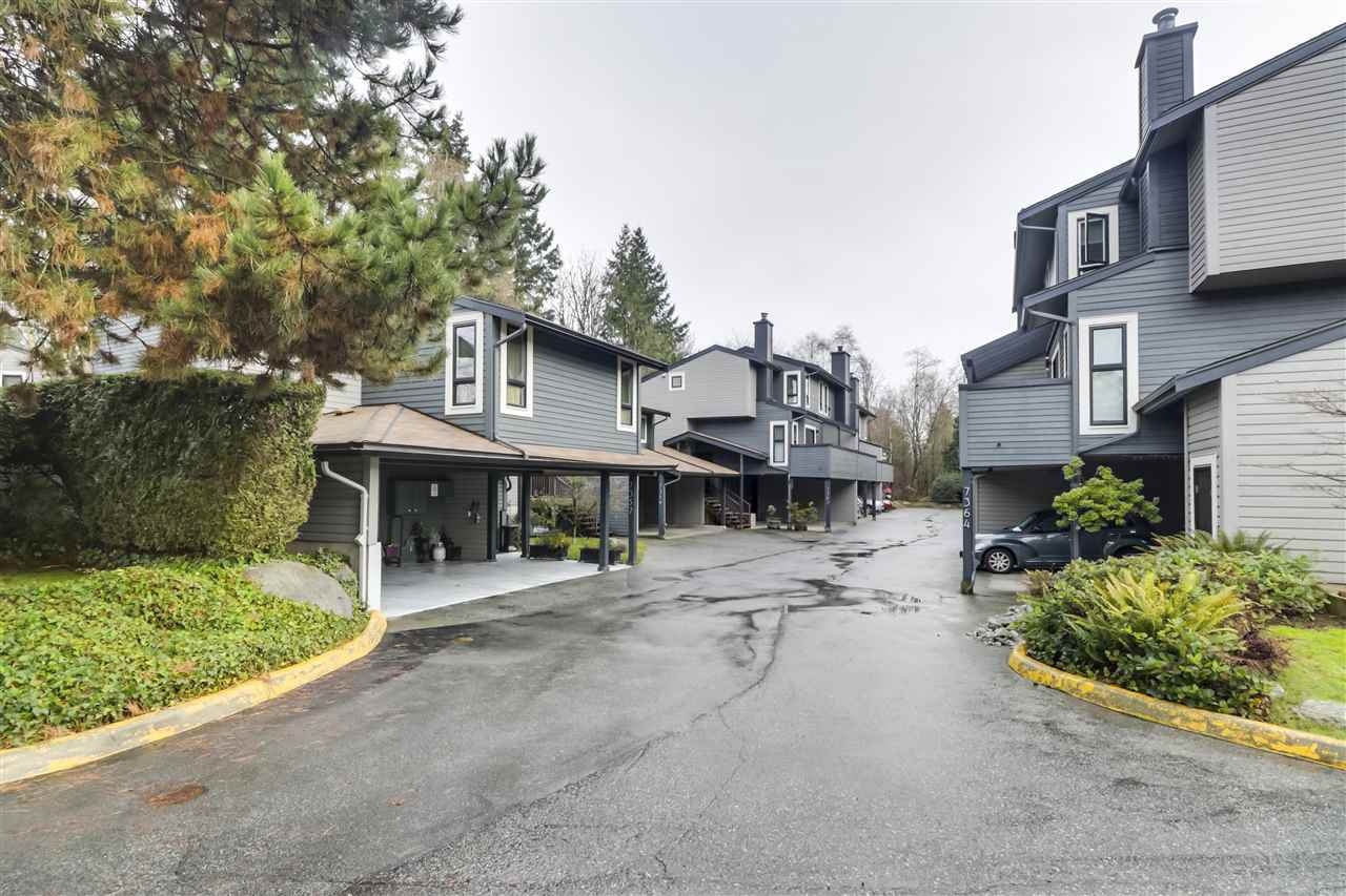 "Main Photo: 7375 PINNACLE Court in Vancouver: Champlain Heights Townhouse for sale in ""PARK LANE"" (Vancouver East)  : MLS®# R2528070"