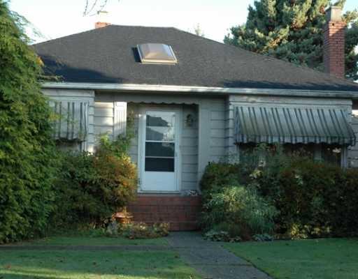 Main Photo: 2495 W 19TH AV in : Arbutus House for sale : MLS®# V793870