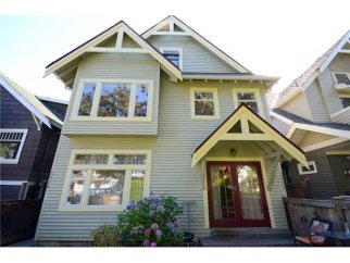 Main Photo: 3228 6TH Avenue in Vancouver: Kitsilano House 1/2 Duplex for sale (Vancouver West)