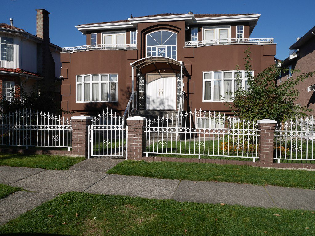 Main Photo: 3353 Queens Avenue in Vancouver: Collingwood House for sale (Vancouver East)  : MLS®# V1101431