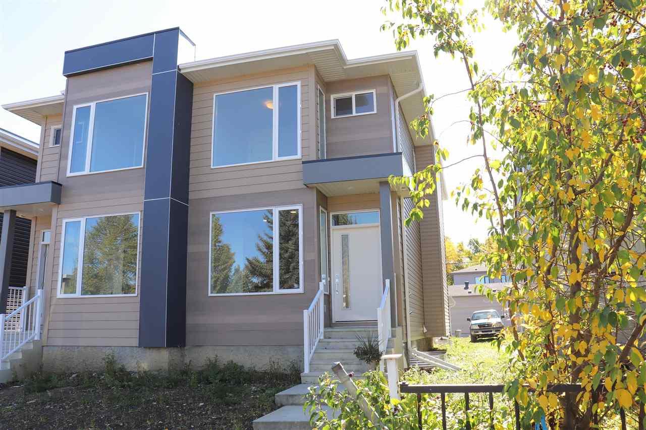 Main Photo: 9515 76 Avenue in Edmonton: Zone 17 House Half Duplex for sale : MLS®# E4175148