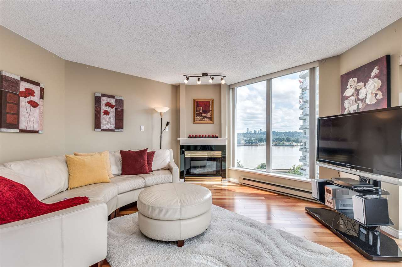 "Main Photo: 1107 71 JAMIESON Court in New Westminster: Fraserview NW Condo for sale in ""PALACE QUAY"" : MLS®# R2475178"