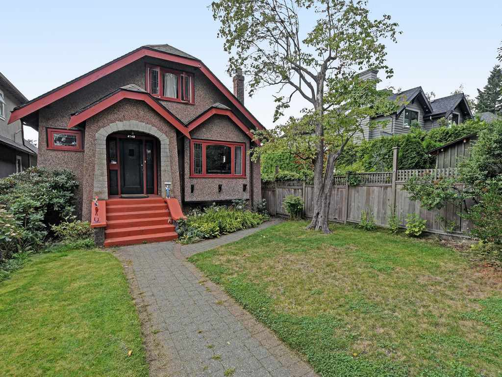 Main Photo: 4743 COLLINGWOOD Street in Vancouver: Dunbar House for sale (Vancouver West)  : MLS®# R2504396
