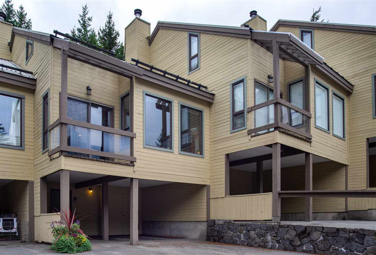 "Main Photo: 49 6125 EAGLE Drive in Whistler: Whistler Cay Heights Townhouse for sale in ""SMOKETREE"" : MLS®# R2507021"