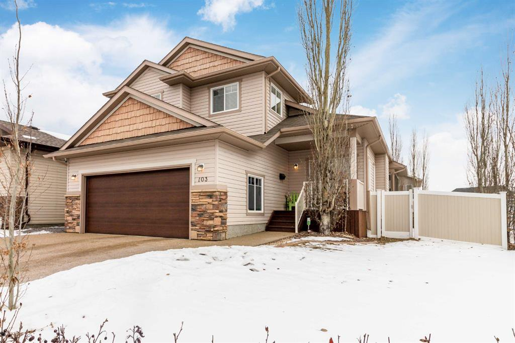 Main Photo: 103 Allwright Close in Red Deer: Aspen Ridge Residential for sale : MLS®# A1058985