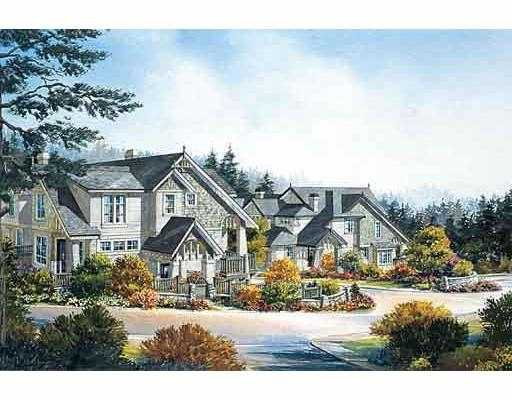 "Main Photo: 20 2978 WHISPER WY in Coquitlam: Westwood Plateau Townhouse for sale in ""SILVER SPRINGS"" : MLS®# V537525"
