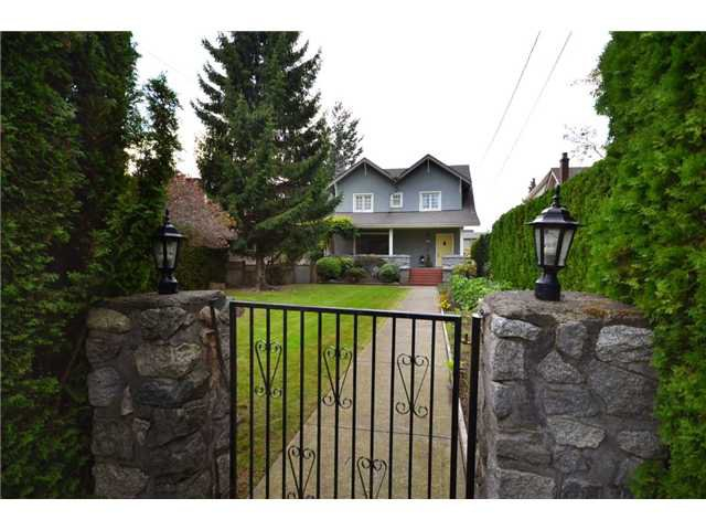 "Main Photo: 5897 MACDONALD Street in Vancouver: Kerrisdale House for sale in ""KERRISDALE"" (Vancouver West)  : MLS®# V931581"