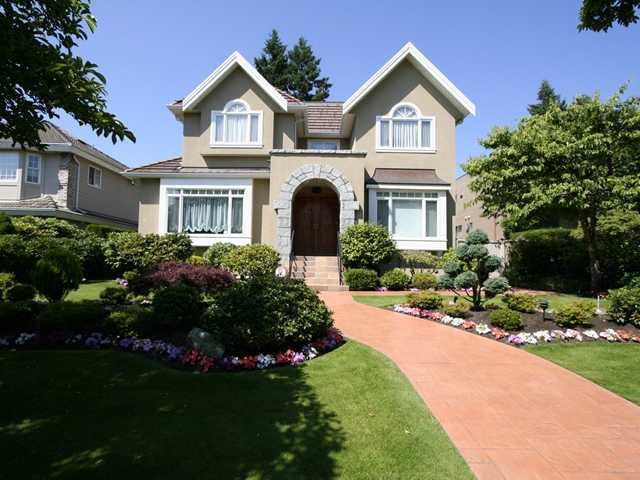 Main Photo: 1381 W 54TH Avenue in Vancouver: South Granville House for sale (Vancouver West)  : MLS®# V961726