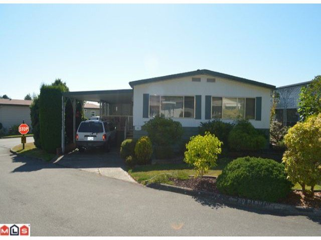 """Main Photo: 64 1640 162ND Street in Surrey: King George Corridor Manufactured Home for sale in """"CHERRY BROOK PARK"""" (South Surrey White Rock)  : MLS®# F1223930"""