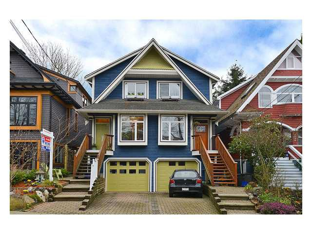 Main Photo: 1530 KITCHENER Street in Vancouver: Grandview VE 1/2 Duplex for sale (Vancouver East)  : MLS®# V993272