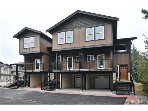 Main Photo: 103 982 Rattanwood Pl in VICTORIA: La Happy Valley Row/Townhouse for sale (Langford)  : MLS®# 635443