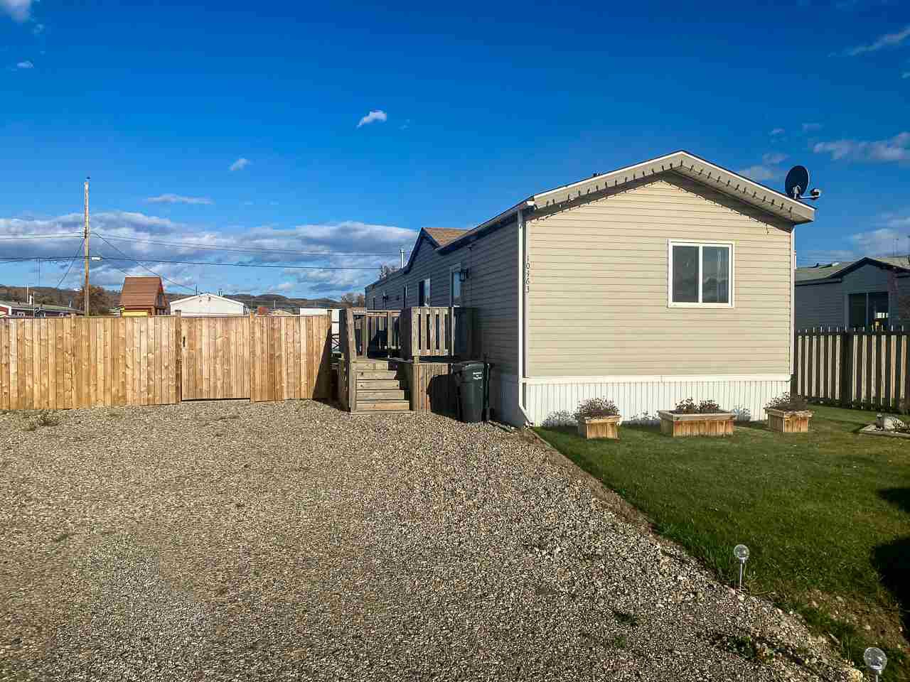 Main Photo: 10463 103 Street: Taylor Manufactured Home for sale (Fort St. John (Zone 60))  : MLS®# R2506617