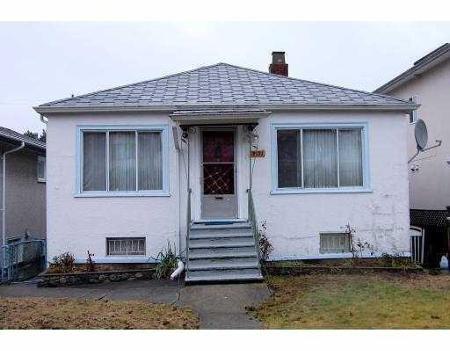 Main Photo: 2533 PARKER ST in Vancouver: House for sale (Renfrew VE)  : MLS®# V801799