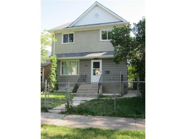 Main Photo: 241 Atlantic Avenue in WINNIPEG: North End Residential for sale (North West Winnipeg)  : MLS®# 1216740