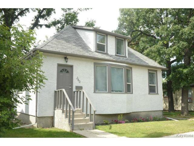 Main Photo: 280 Brooklyn Street in WINNIPEG: St James Residential for sale (West Winnipeg)  : MLS®# 1318832